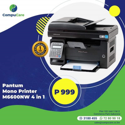 Pantum Mono Printer 4 In 1