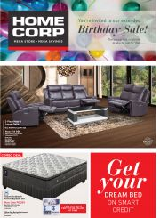 HOME CORP-YOUR ARE INVITED TO OUR EXTENDED BIRTHDAY SALE-GABORONE-VALID TILL 31 AUGUST 2019