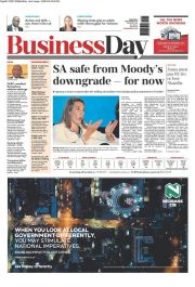BUSINESS DAY newspaper
