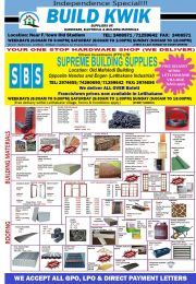 YOUR ONE STOP HARDWARE SHOP (WE DELIVER)