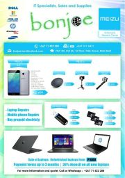 BONJOE - IT SPECIALISTS SALES & SUPPLIES-GABORONE-UNTIL WHILE STOCK LASTS