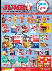 JUMBO - THE PEOPLES CASH & CARRY