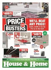 HOUSE & HOME - MASSIVE SAVINGS, MASSIVE RANGE