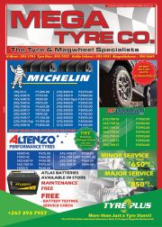 TYRE PLUS-MORE THAN JUST A TYRE STORE-GABORONE/MOGODITSHANE-VALID TILL14 SEPTEMBER 2019