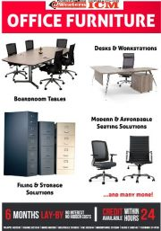 WESTERN/ICM-OFFICE FURNITURE-VALID TILL WHILE STOCK LASTS
