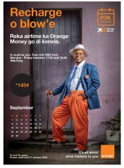 ORANGE-RECHARGE O BLOWE-COUNTRY WIDE-VALID TILL 31 JANUARY 2020