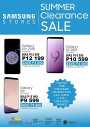 SAMSUNG STORES-SUMMER CLEARANCE SALE-GABORONE-VALID TILL WHILE STOCK LASTS