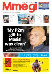 MY P2M GIFT TO MASISI WAS CLEAN newspaper
