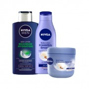 Body Lotion/cream Nivea 400ml at Fours Cash and Carry