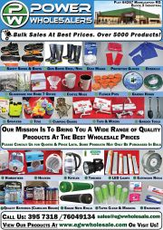 EGW-BULK SALES AT BEST PRICES OVER 5000 PRODUCTS-GABORONE-VALID TILL WHILE STOCK LAST
