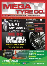 MEGA TYRE CO-THE TYRE & MEGAWHEEL SPECIALISTS-GABORONE-VALID TILL 14 SEPTEMBER 2019