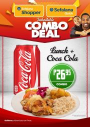 SEFALANA SHOPPER/QUICK-DELICIOUS COMBO DEALS-VALID TILL WHILE STOCK LASTS-COUNTRY WIDE