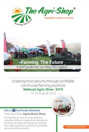 THE AGRIC SHOP-NATIONAL AGRIC SHOW-COUNTRY WIDE-VALID TILL 25 AUGUST 2019