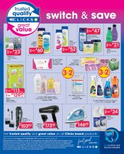 CLICKS - SWITCH & SAVE